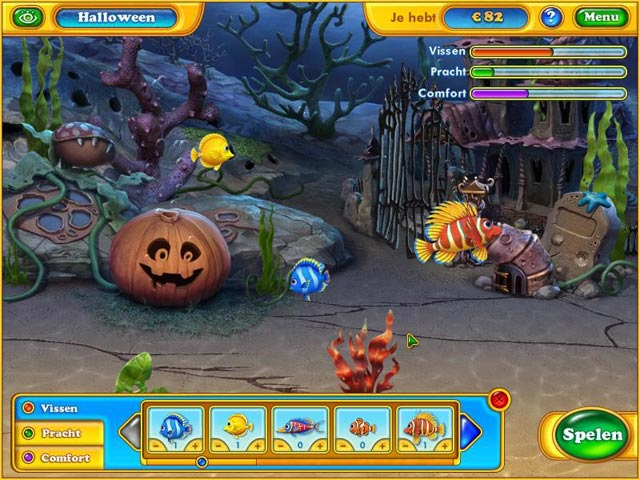 Image Fishdom - Spooky Splash