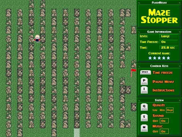 Image Maze Stopper